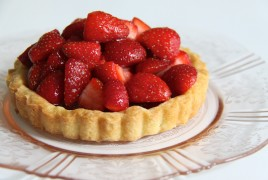 Food - Strawberry Tart
