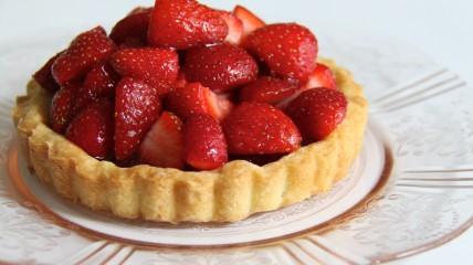Food - Strawberry Tart