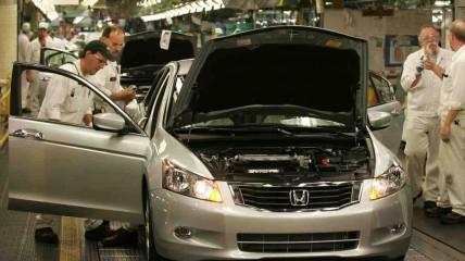 2008 Honda Accord at the Marysville Auto Plant