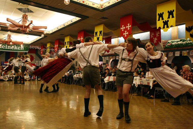 Image result for images from opening of oktoberfest in Kitchener