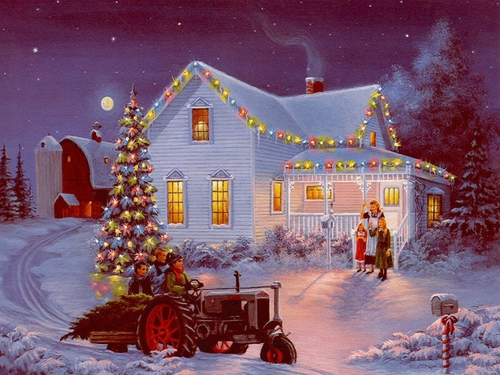Victorian Farm Christmas | TRIPSETTER INC