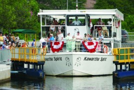 kirkfield lift lock cruise kawartha spirit